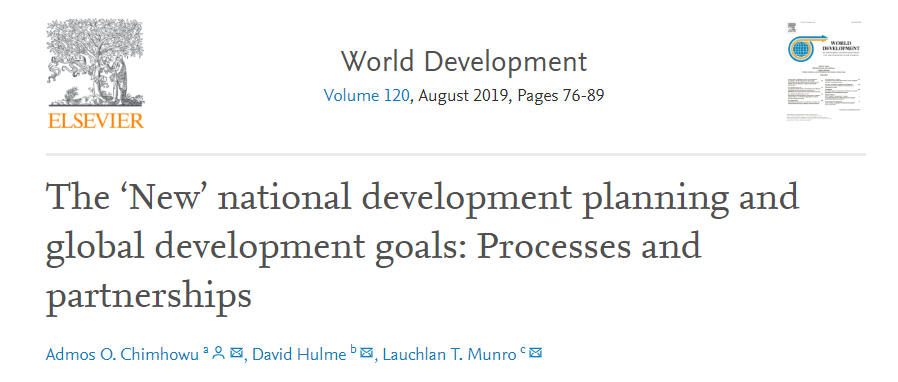 New open access research published in World Development